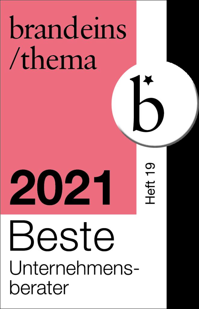 20210208_brandeins_BeraterUnternehmen2021_Siegel_4C